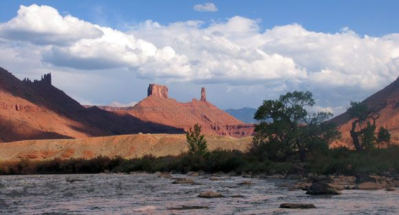 Catleton Tower Colorado River
