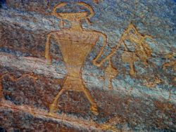 Head Hunter Freemont Petroglyph