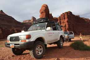 toyota landcruiser Island in the Sky, Canyonlands National Park