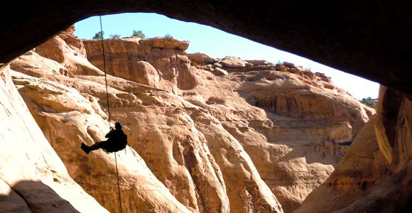 Moab Canyoneering tour