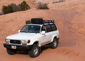Toyota Landcruiser Salt Valley 4x4 trail