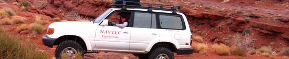 Toyota Landcruiser on a National Park Tour
