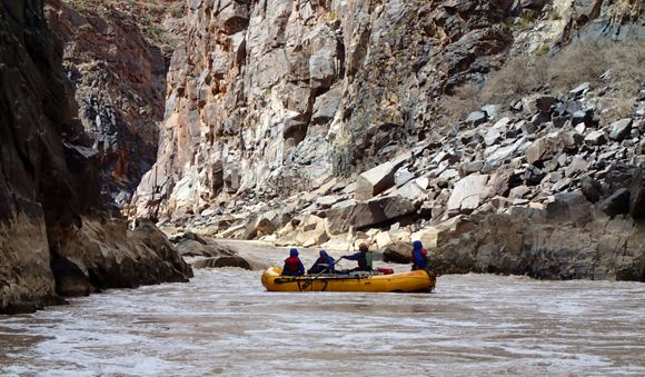 Last Chance rapid Westwater Canyon rafting