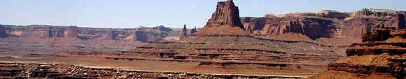 Buttes on the White Rim 4x4 trail
