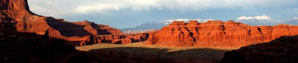 White Rim Trial near Shaffer canyon