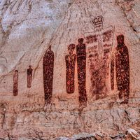 Holy Ghost Pictograph Canyonlands National Park