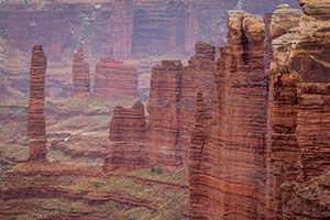 Totem tower Canyonlands National Park 4x4 tour