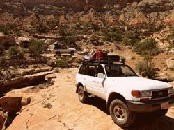Backcountry 4X4 tour in the Maze
