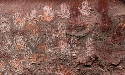 pictographs on canyonlands tour